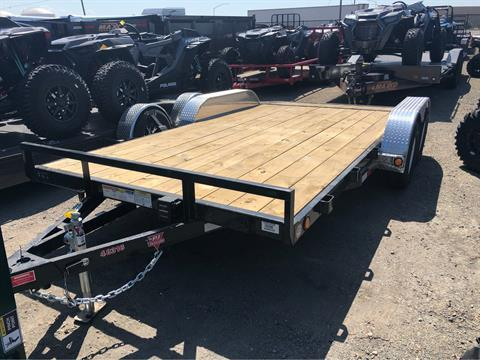 "2020 PJ Trailers 16' X 4"" CHANNEL CARHAULER  in Elk Grove, California"