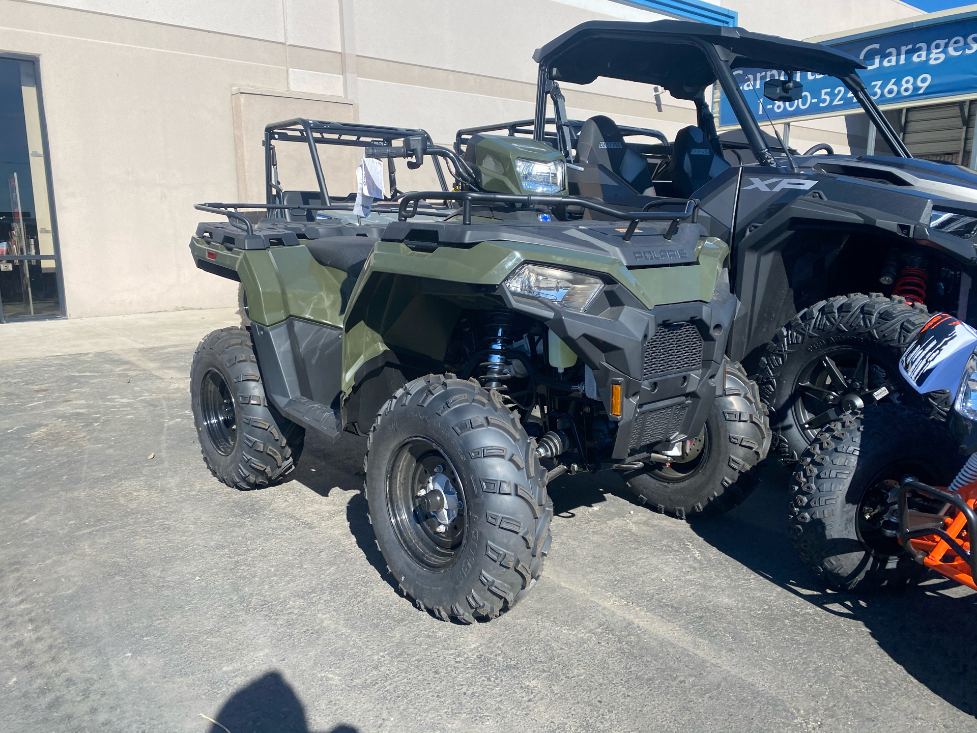 2021 Polaris Sportsman 450 H.O. EPS in Elk Grove, California - Photo 2