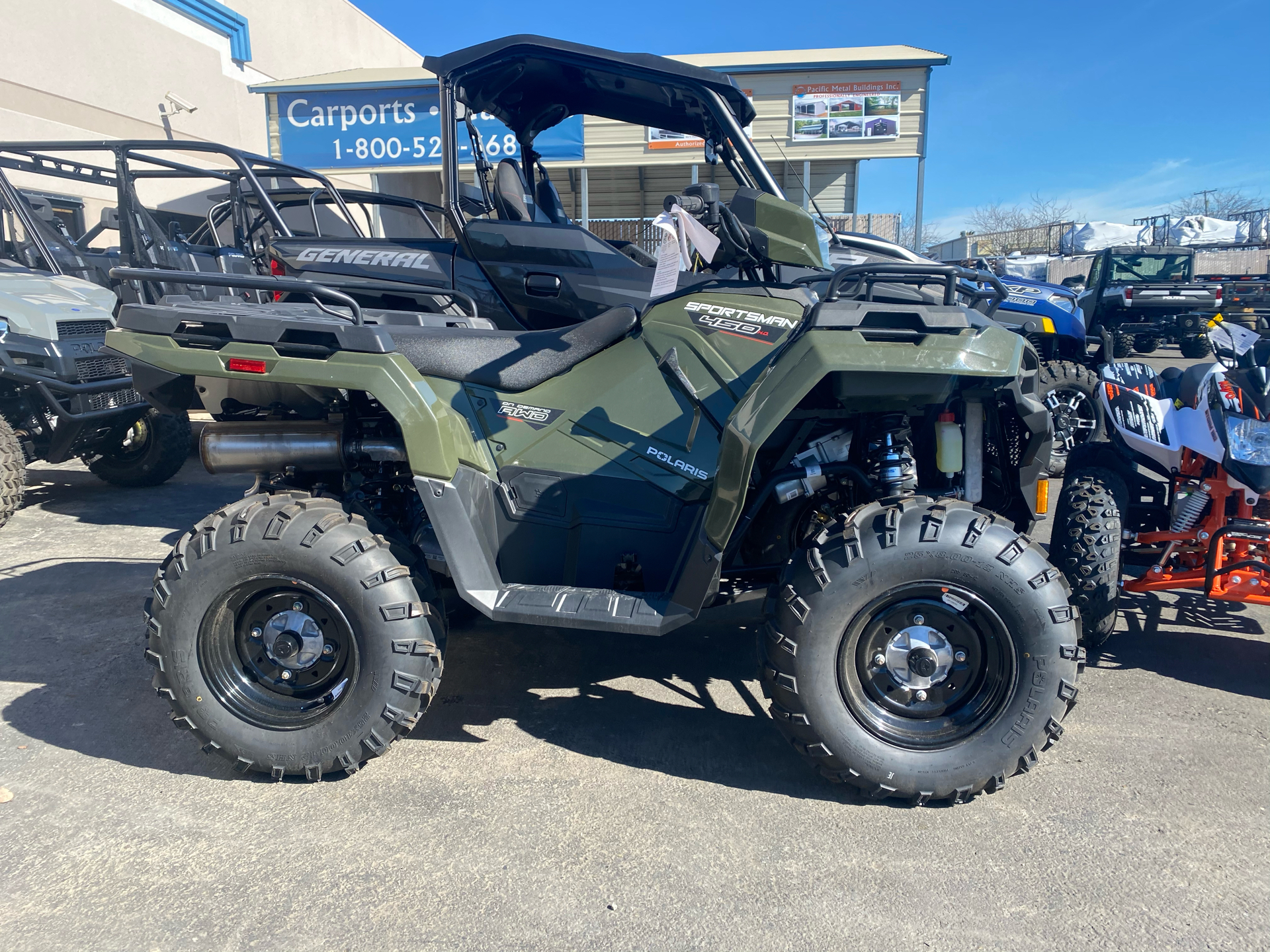 2021 Polaris Sportsman 450 H.O. EPS in Elk Grove, California - Photo 3