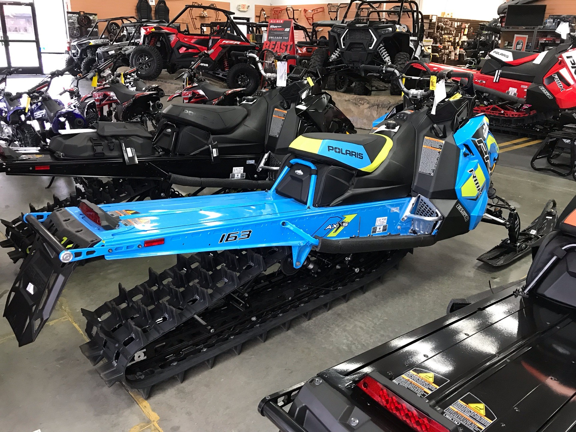 2019 Polaris 850 PRO-RMK 163 SnowCheck Select in Elk Grove, California - Photo 3