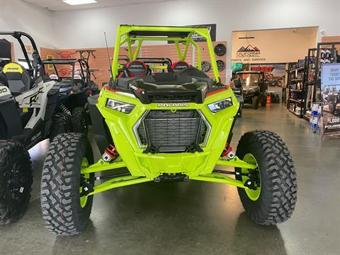2021 Polaris RZR Turbo S Lifted Lime LE in Elk Grove, California - Photo 2