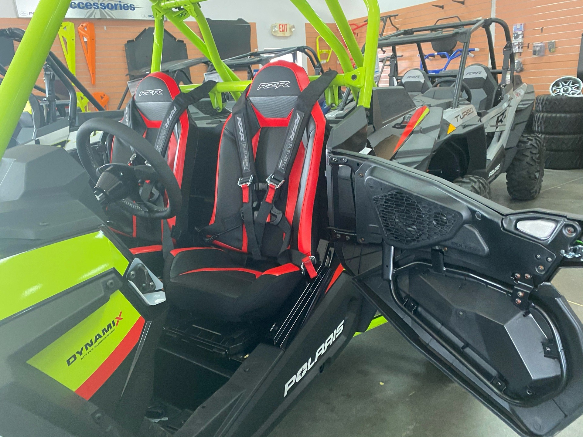2021 Polaris RZR Turbo S Lifted Lime LE in Elk Grove, California - Photo 6