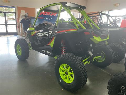 2021 Polaris RZR Turbo S Lifted Lime LE in Elk Grove, California - Photo 11