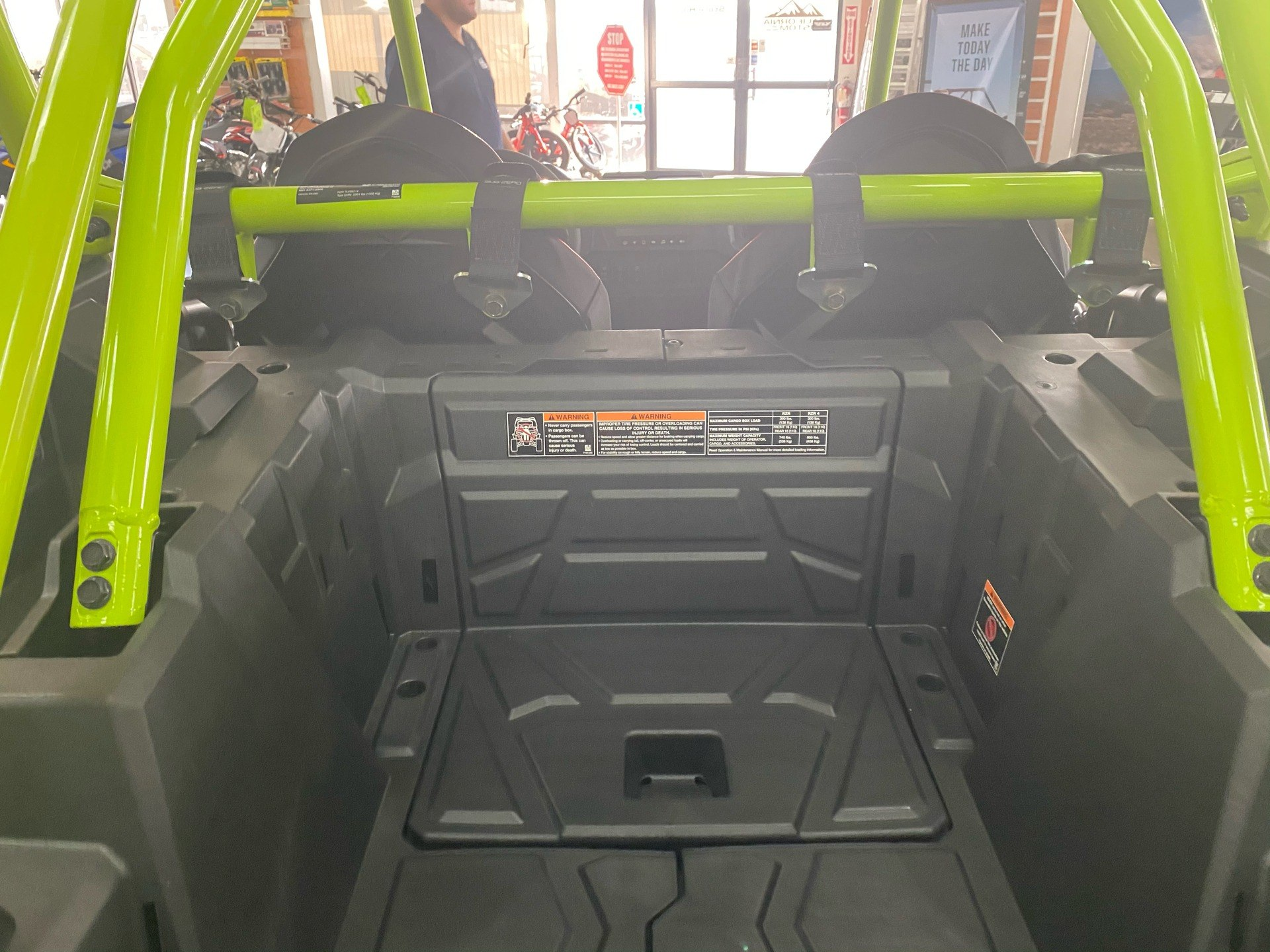 2021 Polaris RZR Turbo S Lifted Lime LE in Elk Grove, California - Photo 13