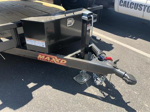"2020 MAXXD TRAILERS 12' X 81"" 4"" GRAVITY TILT UTILITY TRAILER in Elk Grove, California - Photo 2"