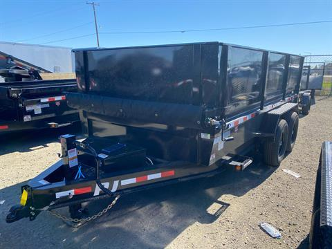 2021 PJ Trailers 14K Low-Profile Dump PRO (DL) 14 ft. in Elk Grove, California - Photo 1