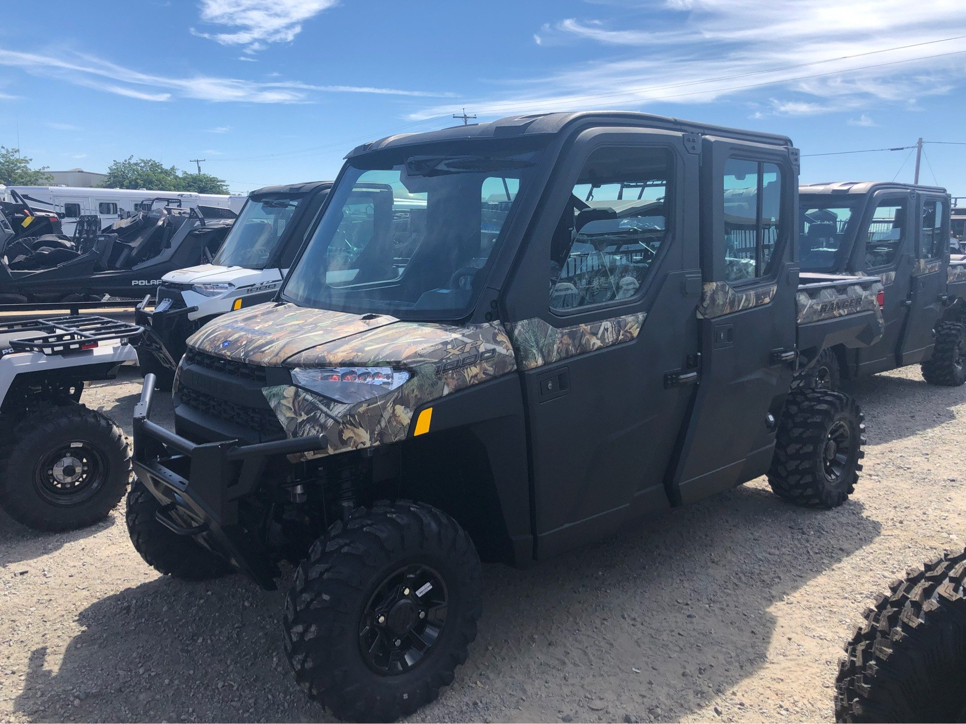 2019 Polaris RANGER CREW XP 1000 EPS NorthStar Edition in Elk Grove, California - Photo 1