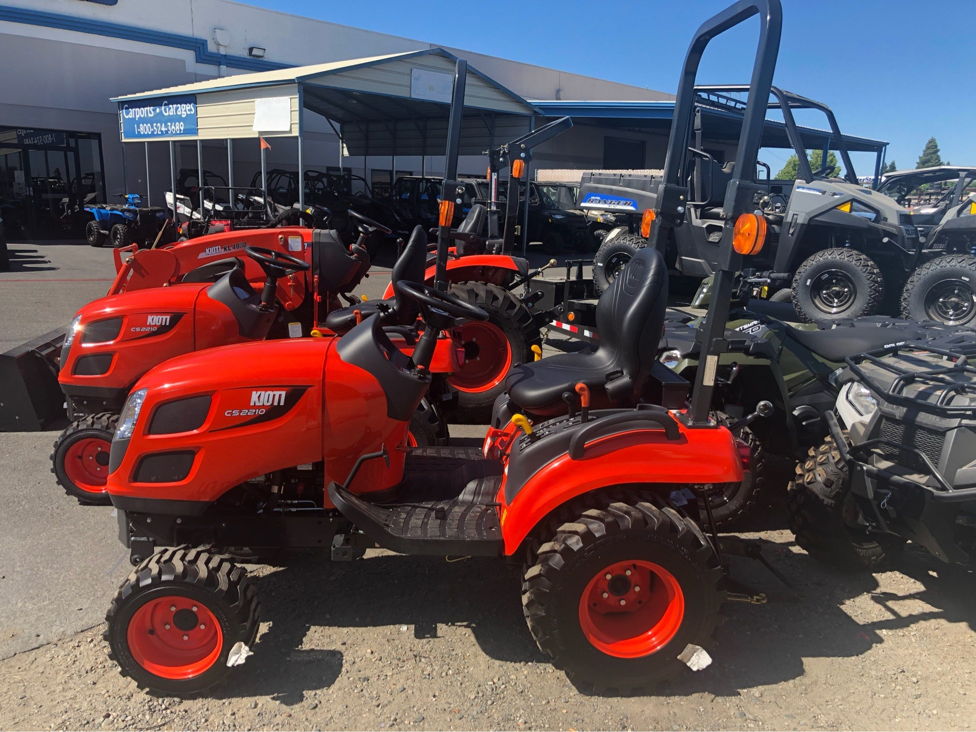 2018 KIOTI CS 2210 HB-SB  SUBCOMPACT 2/ LOADER in Elk Grove, California - Photo 1