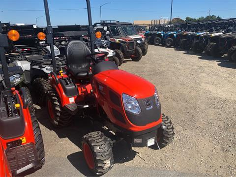 2018 KIOTI CS 2210 HB-SB  SUBCOMPACT 2/ LOADER in Elk Grove, California - Photo 3