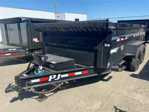 2021 PJ Trailers 83 in. Low-Pro High Side Dump (DM) 14 ft. in Elk Grove, California - Photo 1