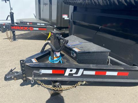 2021 PJ Trailers 83 in. Low-Pro High Side Dump (DM) 14 ft. in Elk Grove, California - Photo 2