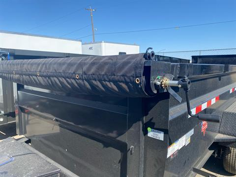 2021 PJ Trailers 83 in. Low-Pro High Side Dump (DM) 14 ft. in Elk Grove, California - Photo 3