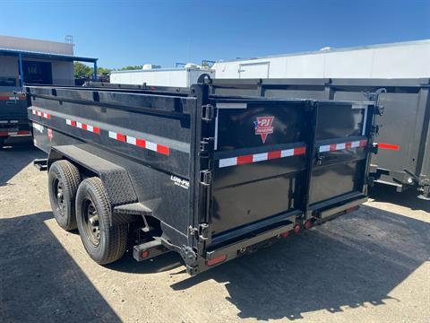 2021 PJ Trailers 83 in. Low-Pro High Side Dump (DM) 14 ft. in Elk Grove, California - Photo 6
