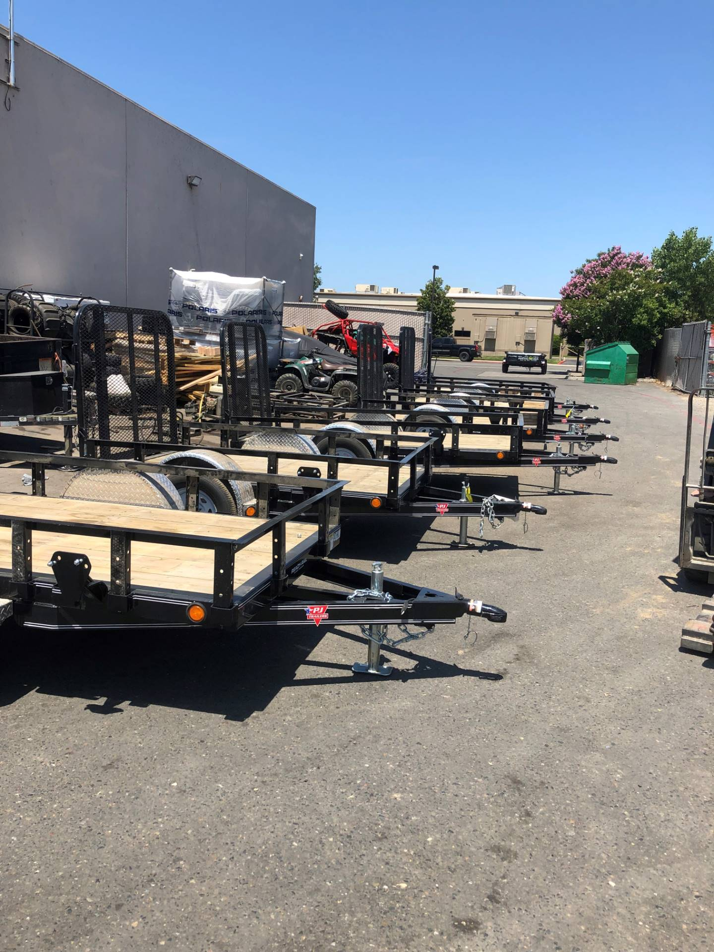"2019 PJ Trailers 8' X 60"" SA UTILITY TRAILER in Elk Grove, California - Photo 6"