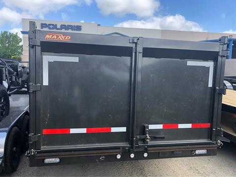 "2019 MAXXD TRAILERS 16' x 83"" CLASSIC GN DUMP TRAILER in Elk Grove, California - Photo 9"