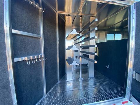 2022 4-STAR TRAILERS 7X24 DELUX STOCK COMBO W COWBOY TACK in Elk Grove, California - Photo 21