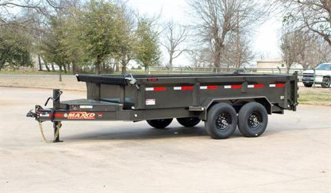 "2021 MAXXD TRAILERS 12' X 83"" I-BEAM DUMP TRAILER in Elk Grove, California - Photo 10"