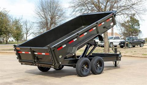 "2021 MAXXD TRAILERS 12' X 83"" I-BEAM DUMP TRAILER in Elk Grove, California - Photo 2"