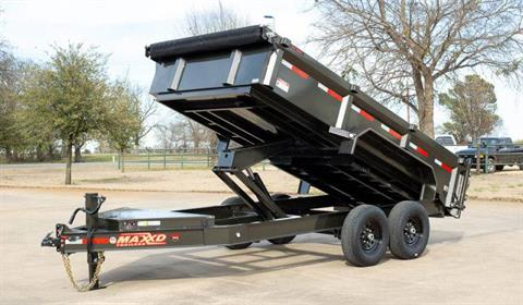 "2021 MAXXD TRAILERS 12' X 83"" I-BEAM DUMP TRAILER in Elk Grove, California - Photo 4"