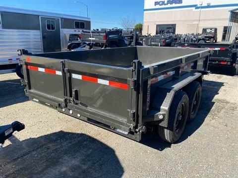 "2021 MAXXD TRAILERS 12' X 83"" I-BEAM DUMP TRAILER in Elk Grove, California - Photo 9"