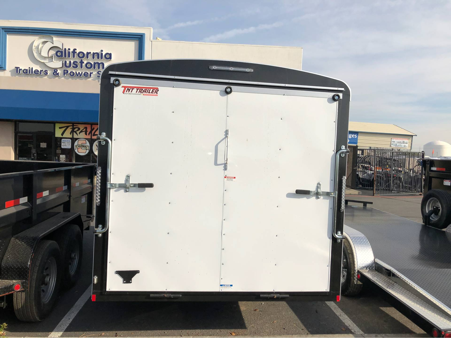 2018 TNT Trailer, LLC 16' X 7' TA CARGO TRAILER in Elk Grove, California