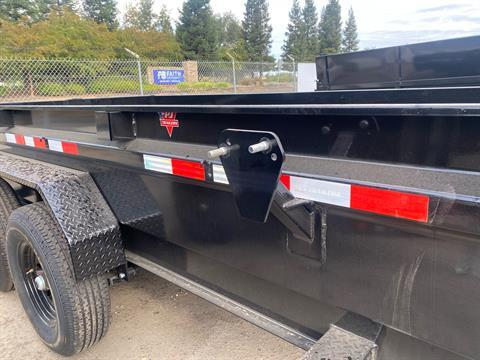 "2021 PJ Trailers 14' X 83"" LOW-PRO DUMP TRAILER in Acampo, California - Photo 3"