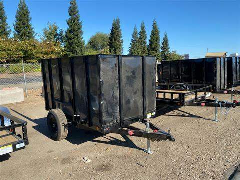 "2021 PJ Trailers 8' x 60"" Single Axle Channel Utility in Acampo, California - Photo 1"