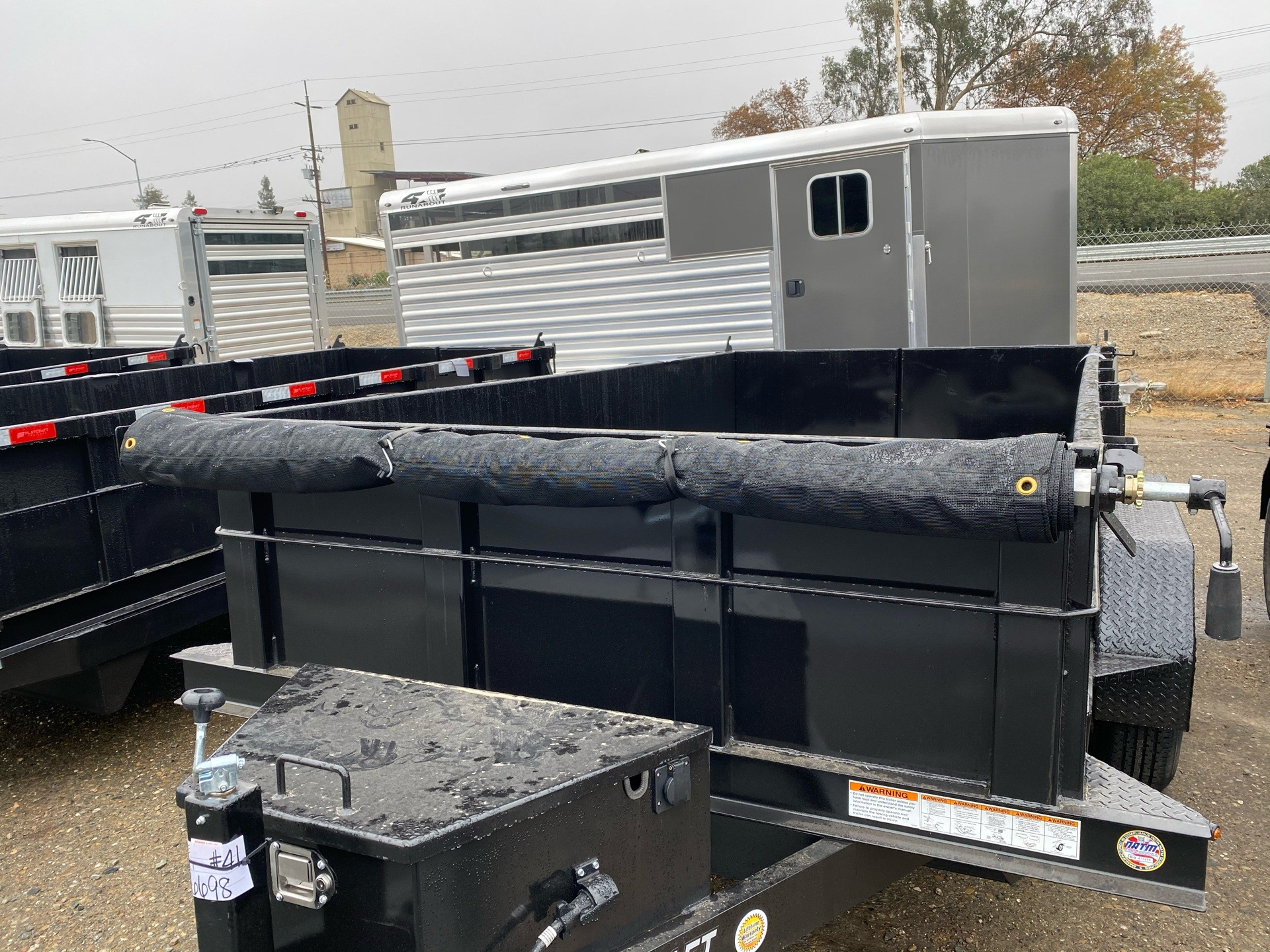 2021 Playcraft Trailers 12' x 6' 10k Dump in Acampo, California - Photo 3