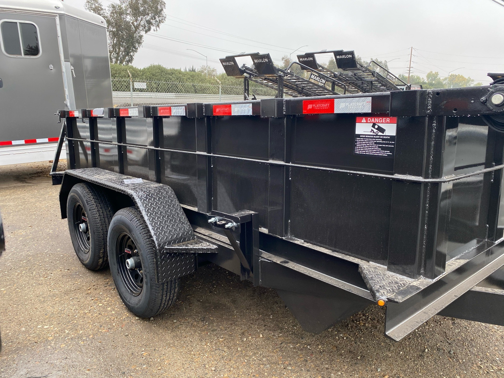 2021 Playcraft Trailers 12' x 6' 10k Dump in Acampo, California - Photo 4