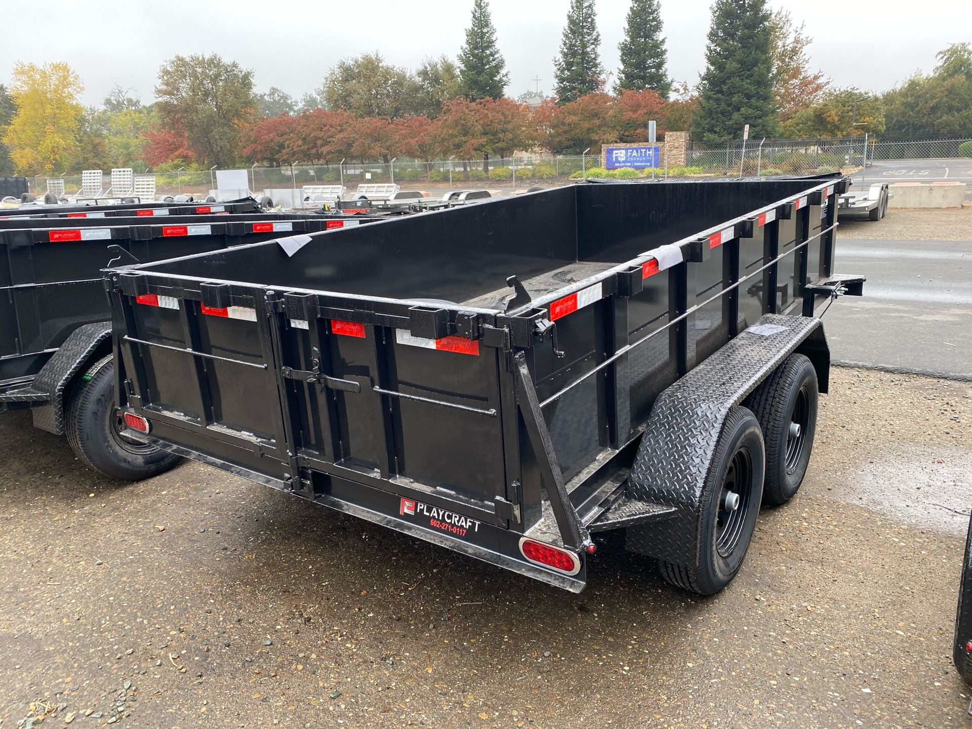 2021 Playcraft Trailers 12' x 6' 10k Dump in Acampo, California - Photo 6