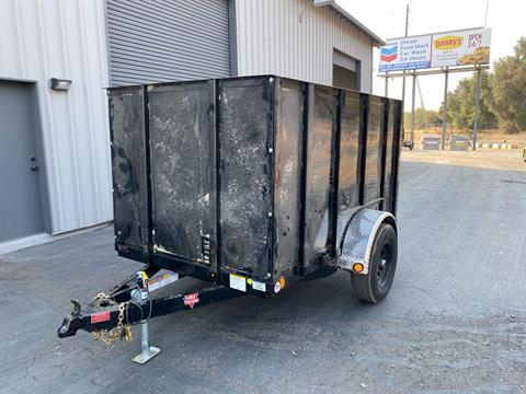"2021 PJ Trailers 8' X 60"" Single Axle Utility Trailer in Acampo, California - Photo 1"