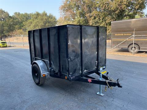 "2021 PJ Trailers 8' X 60"" Single Axle Utility Trailer in Acampo, California - Photo 3"