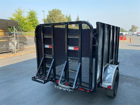 "2021 PJ Trailers 8' X 60"" Single Axle Utility Trailer in Acampo, California - Photo 5"