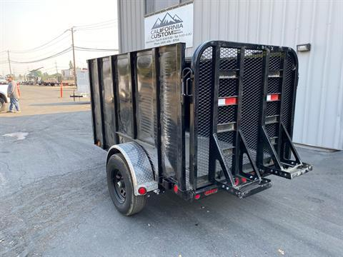 "2021 PJ Trailers 8' X 60"" Single Axle Utility Trailer in Acampo, California - Photo 7"
