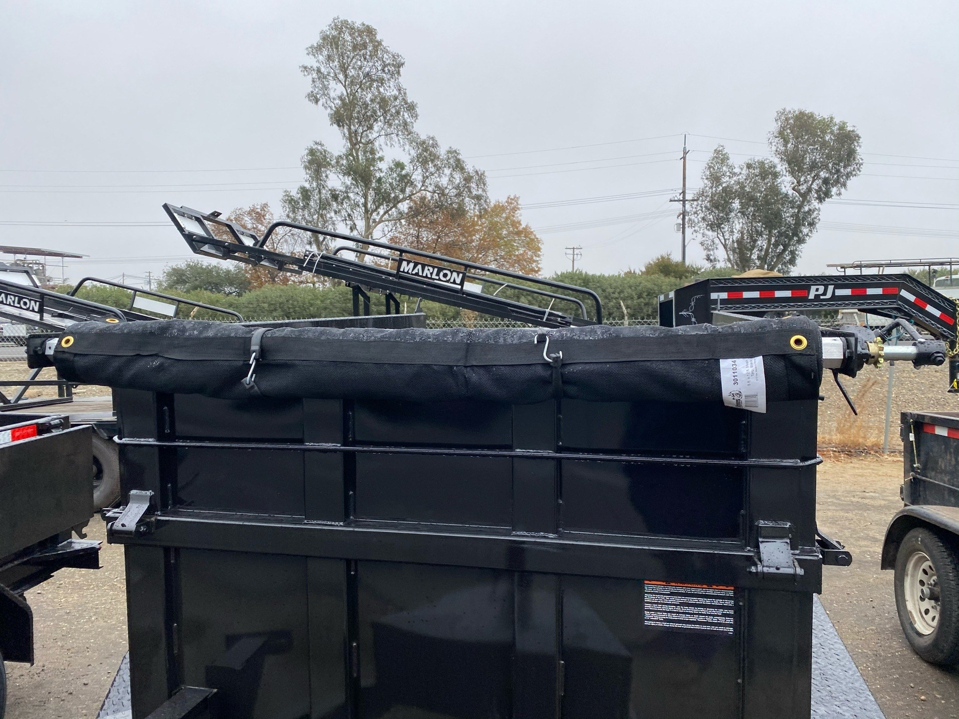2021 Playcraft Trailers 8' X 5' Dump Trailer w/ Fold Down Sides in Acampo, California - Photo 3