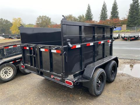 2021 Playcraft Trailers 8' X 5' Dump Trailer w/ Fold Down Sides in Acampo, California - Photo 5