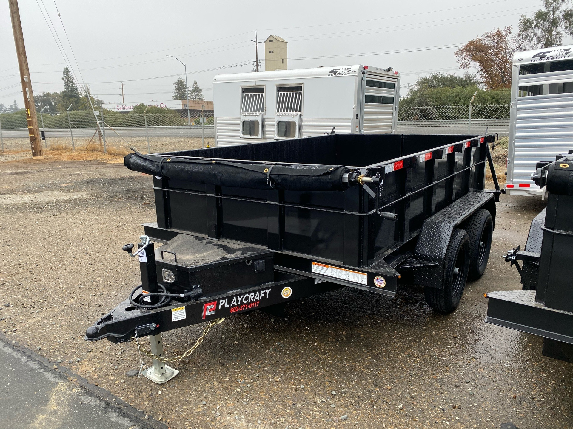 2021 Playcraft Trailers 10' x 6'  Dump Trailer in Acampo, California - Photo 1