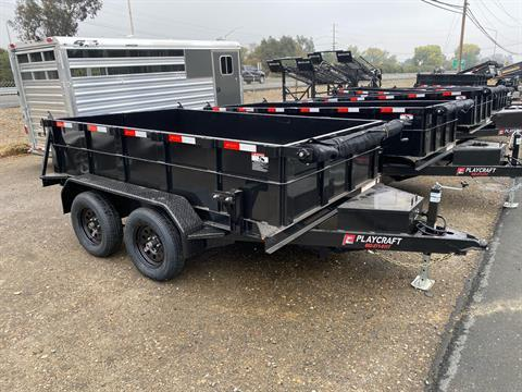 2021 Playcraft Trailers 10' x 6'  Dump Trailer in Acampo, California - Photo 5