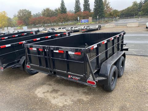 2021 Playcraft Trailers 10' x 6'  Dump Trailer in Acampo, California - Photo 9