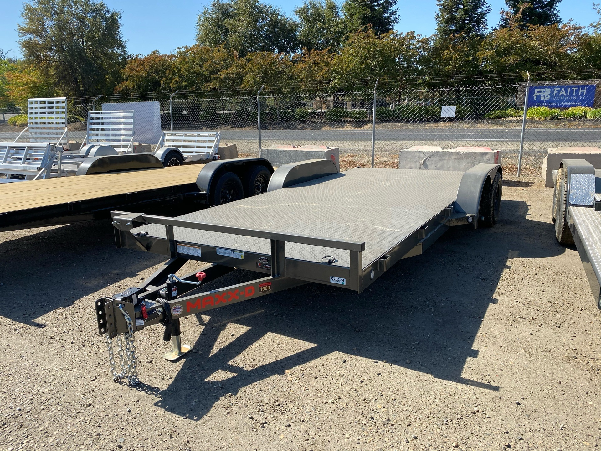 "2021 Maxey Trailers 18' x 83"" Channel Carhauler in Acampo, California - Photo 1"