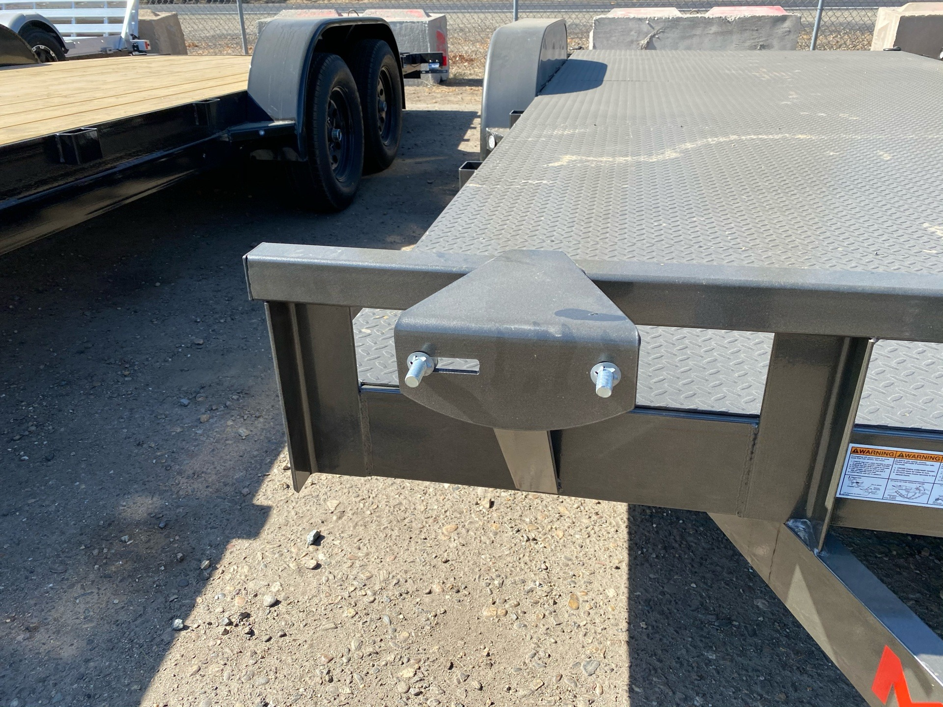 "2021 Maxey Trailers 18' x 83"" Channel Carhauler in Acampo, California - Photo 3"