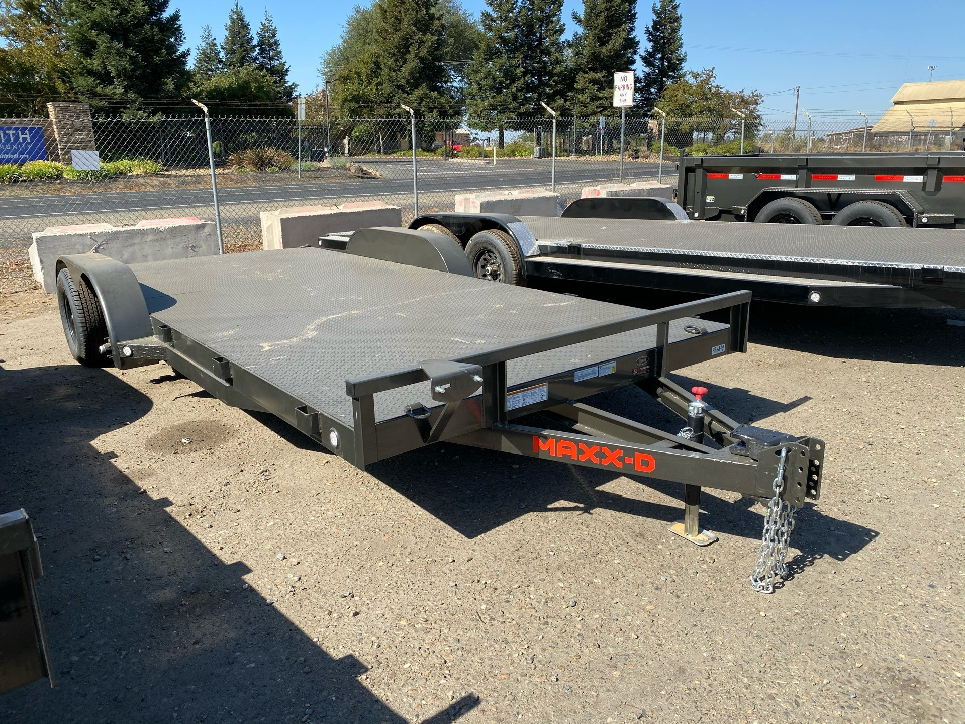 "2021 Maxey Trailers 18' x 83"" Channel Carhauler in Acampo, California - Photo 4"