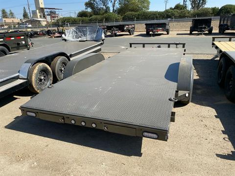 "2021 Maxey Trailers 18' x 83"" Channel Carhauler in Acampo, California - Photo 6"