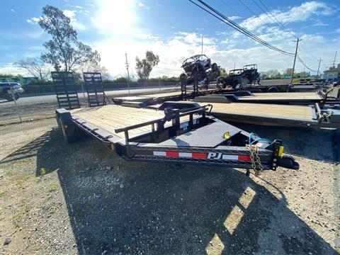"2020 PJ Trailers 20' X 8"" PRO-BEAM EQUIPMENT TRAILER in Acampo, California - Photo 1"