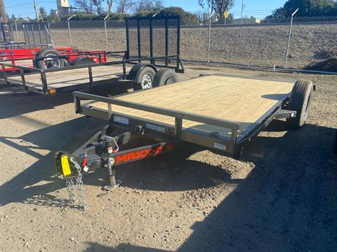 "2021 Maxey Trailers 14' x 81"" 3K Gravity Quick Tilt in Acampo, California - Photo 1"