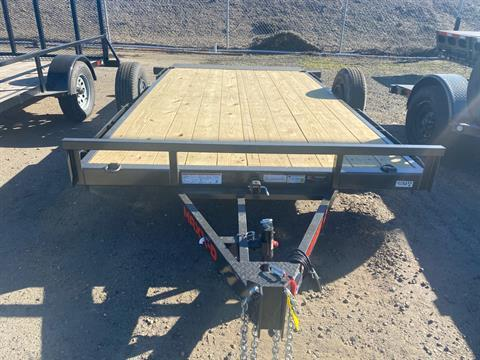 "2021 Maxey Trailers 14' x 81"" 3K Gravity Quick Tilt in Acampo, California - Photo 3"