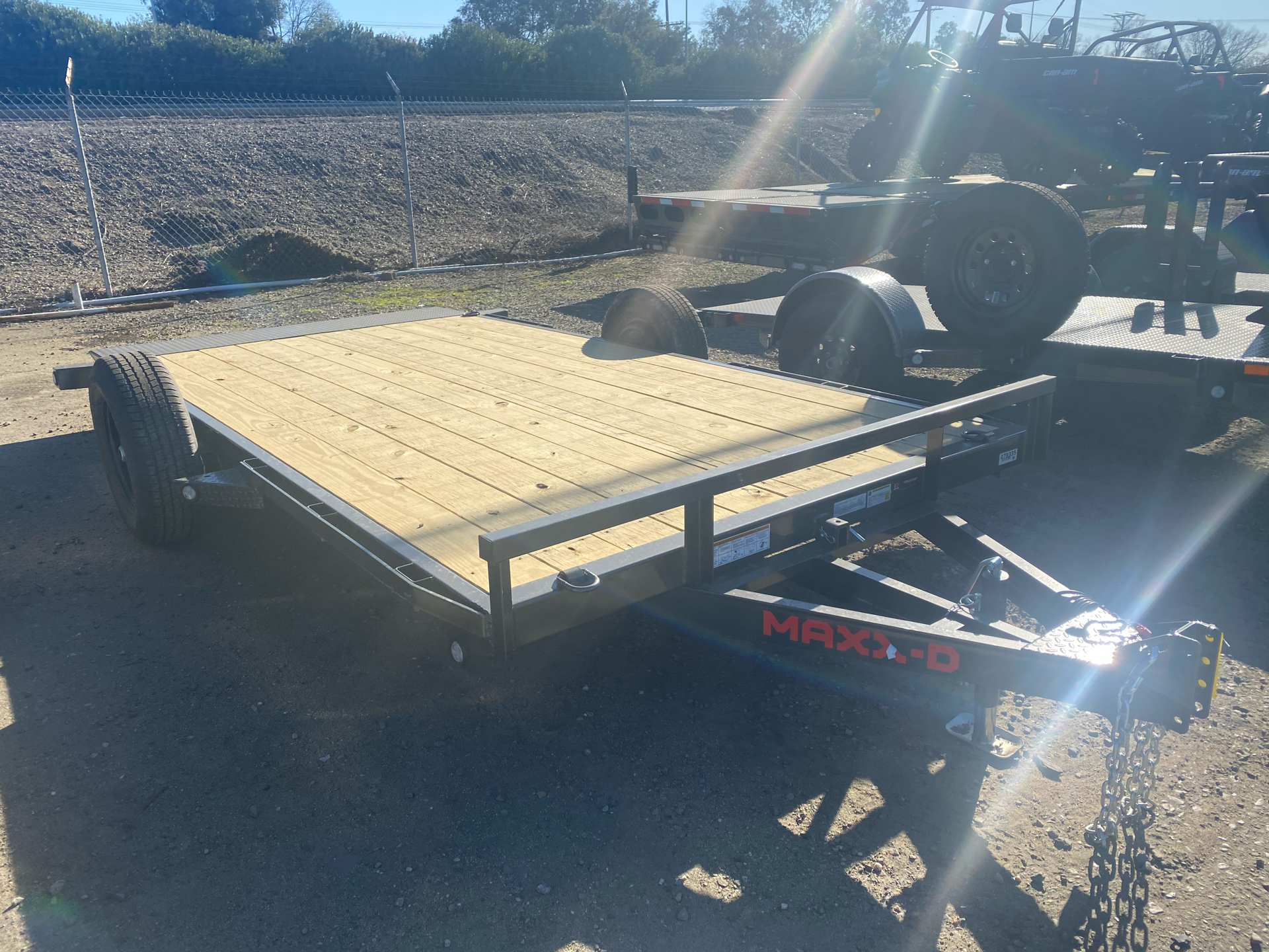 "2021 Maxey Trailers 14' x 81"" 3K Gravity Quick Tilt in Acampo, California - Photo 4"