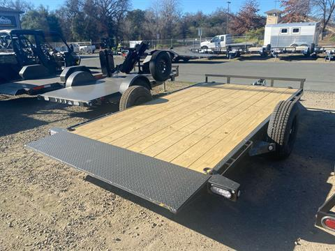 "2021 Maxey Trailers 14' x 81"" 3K Gravity Quick Tilt in Acampo, California - Photo 7"