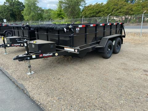 2020 Playcraft Trailers 6' x 12' Dump Trailer in Acampo, California - Photo 1
