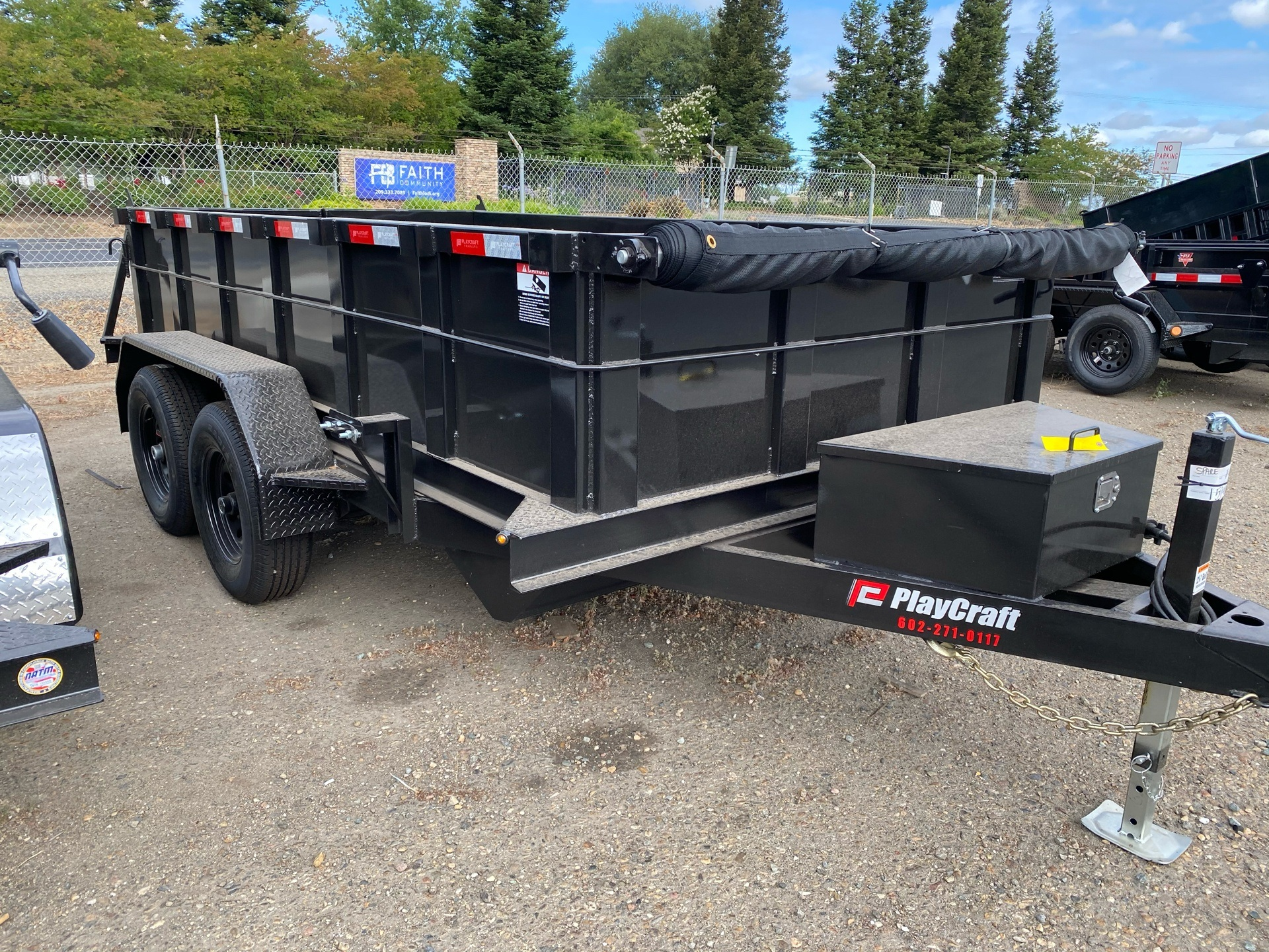 2020 Playcraft Trailers 6' x 12' Dump Trailer in Acampo, California - Photo 4